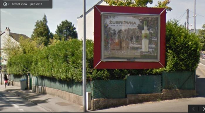 Image Google Maps - juin 2014